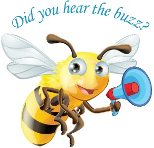 hear the buzz logo mini