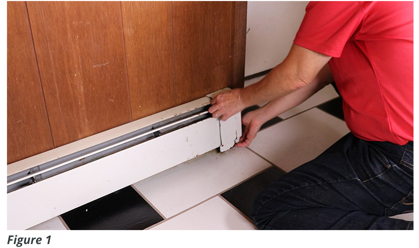 Aluminum Baseboard Replacement Covers