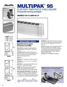 Multi pak 95 slantfin for Homeowner selection sheet